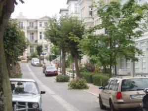 Ulica w Seebad Ahlbeck