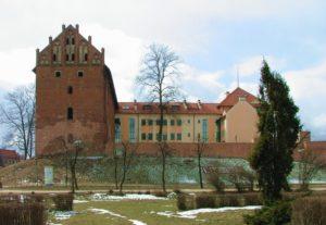 Zamek krzyżacki z XIV w. w Działdowie